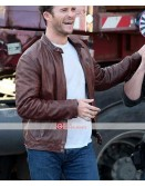 Scott Eastwood Overdrive Andrew Foster Brown Jackets