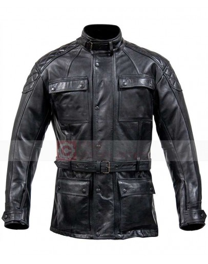 Spada Berliner Black Leather Jacket Blazer