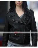 Jessica Jones Krysten Ritter Biker Leather Jacket