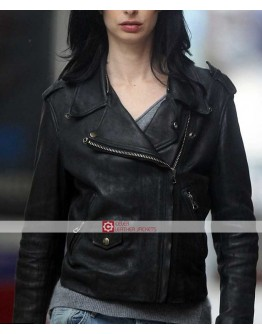 Jessica Jones Krysten Ritter Biker Leather Jacket