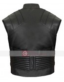 Jeremy Renner Hawkeye Leather Costume Vest