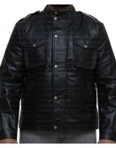 Breaking Bad Season 4 Aaron Paul Leather Jacket