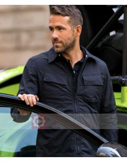 6 Underground Ryan Reynolds (One) Black Jacket