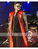 Adam Lambert Concert 2019 Leather Coat