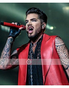 Adam Lambert Concert 2019 Leather Coat