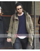 Andrew Garfield Travel Outfit Coat