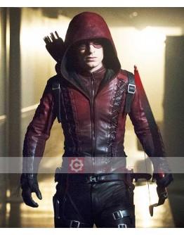 Arrow Season 5 Colton Haynes (Roy Harper) Costume Jacket