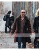 Atomic Blonde James McAvoy Fur Suede Coat