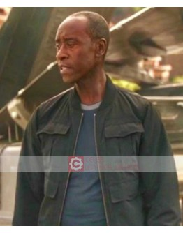 Avengers Endgame Don Cheadle Jacket