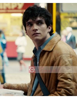Black Mirrors Bandersnatch (Fionn Whitehead) Leather Jacket