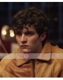 Black Mirrors Bandersnatch (Fionn Whitehead) Leather Jacket