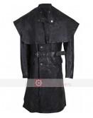 Bloodborne Yharnamite Joe Sims Black Leather Costume Coat