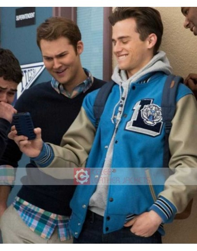 Brandon Flynn 13 Reasons Why Baseball Letterman Jacket