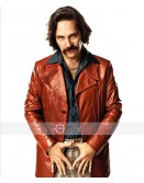 Anchorman 2 Paul Rudd (Brian Fantana) Leather Blazer
