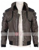 Cyberpunk 2077 Samurai Costume Leather Jacket