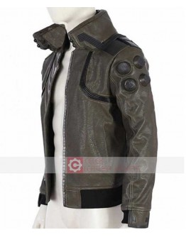 Cyberpunk 2077 Samurai Costume Leather Jacket