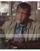 Captain Marvel Samuel L Jackson (Nick Fury) Leather Jacket