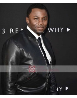 Derek Luke 13 Reasons Why (Mr Porter) Premiere Jacket