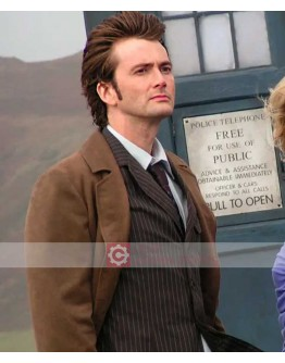 Doctor Who Series David Tennant The Doctor Coat