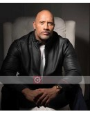 Dwayne Johnson Fighting With My Family Shoot Leather Jacket