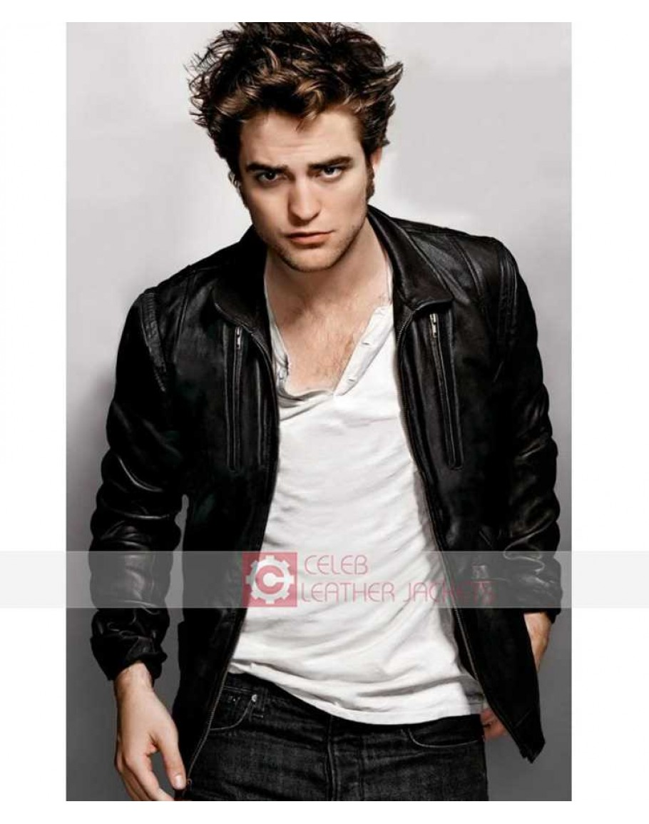 Edward Cullen Twilight Eclipse (Robert Pattinson) Men s Leather Jacket ec1fc9d51c59