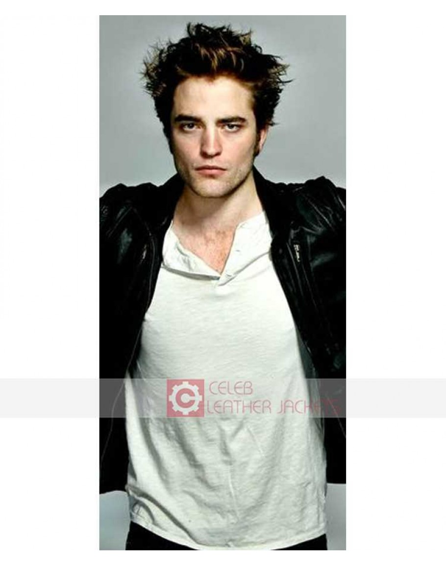 Buy Twilight Eclipse Edward Cullen (Robert Pattinson) Leather Jacket e18cca50a215