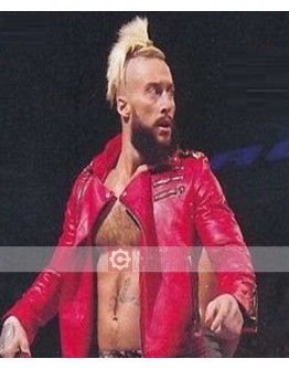 WWE Enzo Amore Leather Jacket
