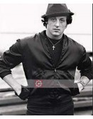 Eye Of The Tiger Sylvester Stallone (Rocky Balboa) Leather Jacket