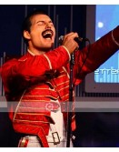Freddie Mercury Red Leather Jacket