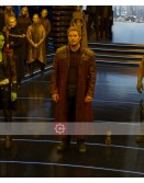 Guardians Of The Galaxy Star lord Costume Coat
