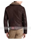 Harry Styles Brown Leather Jacket