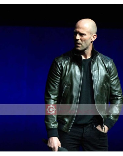 Jason Statham CinemaCon 2019 Leather Jacket