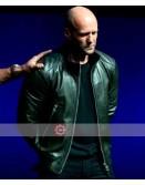 Jason Statham CinemaCon 2019 Leather Jacket