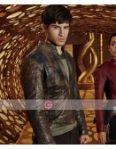 Krypton Seyg EL Superman TV Series Leather Jacket