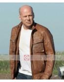 Looper Bruce Willis Leather Jacket