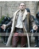Legend of The Sword Charlie Hunnam Leather Coat