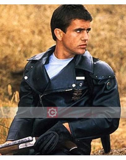 Mad Max Rockatansky (Mel Gibson) Biker Leather Jacket