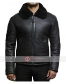 Men Aviator B3 Shearling Sheepskin Jacket