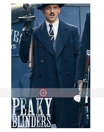 Peaky Blinders Luca Zizzari Coat