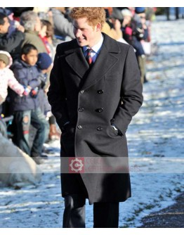 Prince Harry Double Breasted Coat