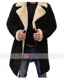 SuperFly Trevor Jackson (Youngblood) Shearling Leather Coat