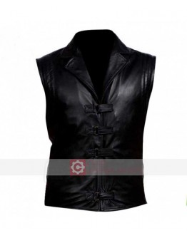 Van Helsing Gabriel Hugh Jackman Leather Vest