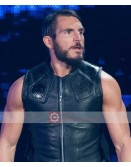 WWE Johnny Gargano Leather Vest