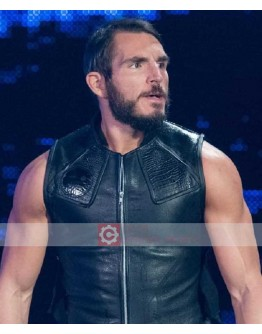 WWE Johnny Gargano Leather Vest