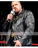 WWE Triple H Raw Biker Leather Jacket