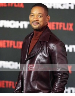 Will Smith (Bright) European Premiere Leather Jacket