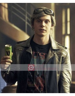 X-Men Dark Phoenix Evan Peters Leather Jacket