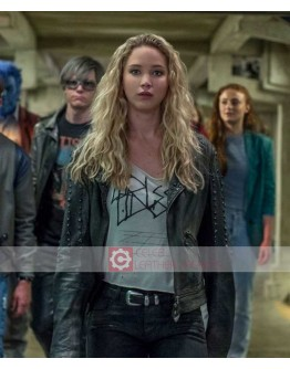X-Men Dark Phoenix Jennifer Lawrence Leather Jacket