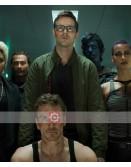 X-Men Dark Phoenix Nicholas Hoult Green Jacket