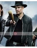 Zombieland Double Tap Woody Harrelson Leather Jacket